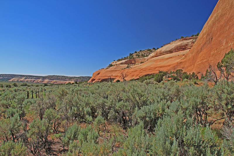 A landscape taken Jun 14, 2010 near Fruita, CO.