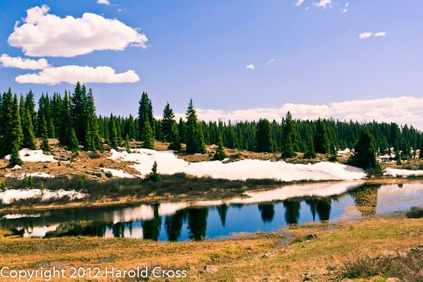 A landscape taken May 22, 2012 near Grand Mesa, CO.