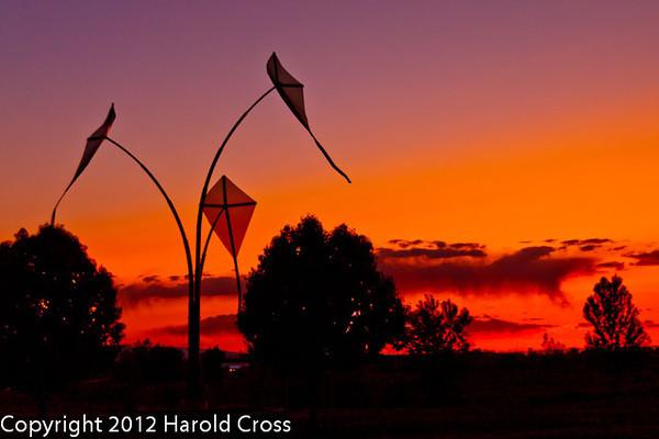 A landscape taken May 13, 2012 in Grand Junction, CO.