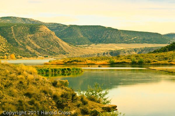 A landscape taken Oct. 16, 2011 near Rangely, CO.