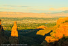 A landscape taken Sep. 2, 2011 at the Colorado National Monument near Fruita, CO.
