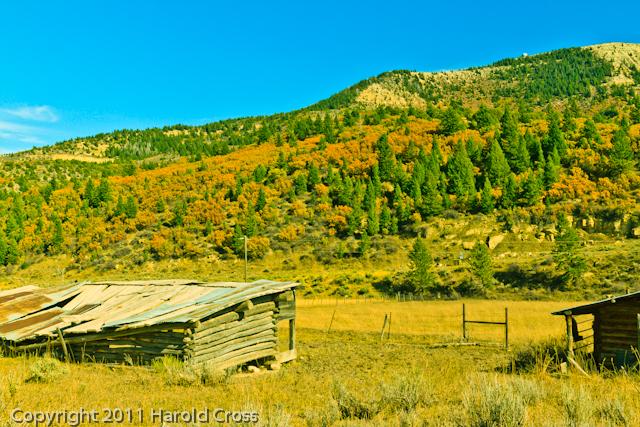 A landscape taken Oct. 16, 2011 near Douglas Pass in western CO.