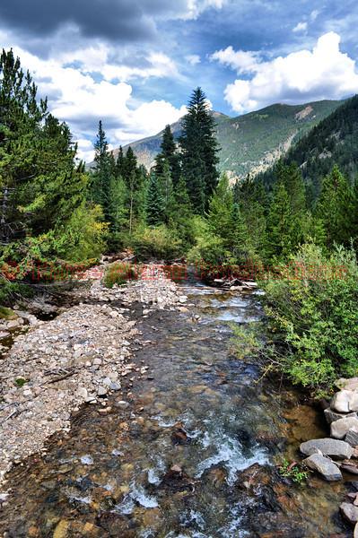 Clear Creek in Colorado.