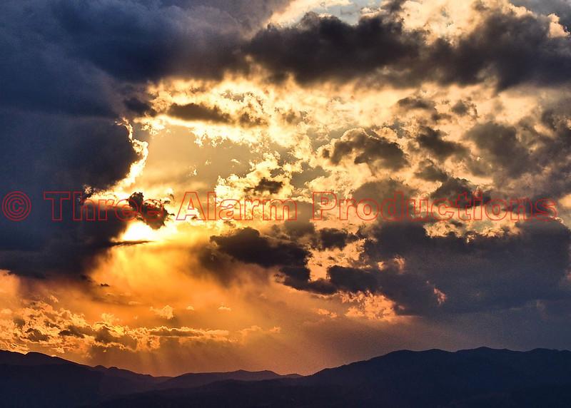 A beautiful Colorado sunset.