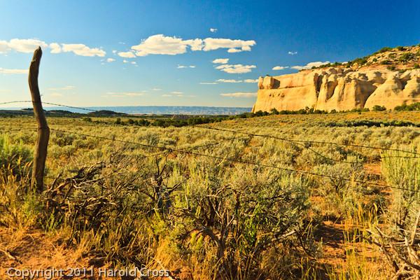 A landscape taken Sep. 2, 2011 near Fruita, CO.