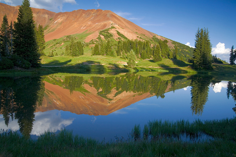 Pond at Paradise Divide near Crested Butte