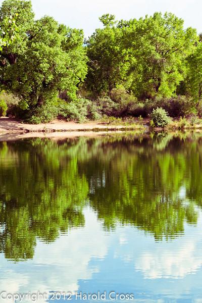 A landscape taken May 17, 2012 in Grand Junction, CO.