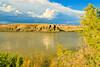 A landscape taken Aug. 19, 2011 at Highline Lake State Park near Fruita, CO.