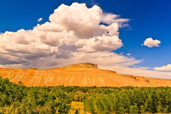 A landscape taken Aug. 20, 2011 near Grand Junction, CO.