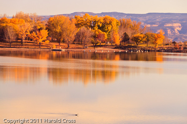 A landscape taken Nov. 8, 2011 near Fruita, CO.