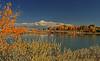 A landscape taken Oct. 19, 2010 at Highline Lake State Park near Fruita, CO.