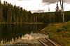 A landscape taken Aug. 25, 2001 near Grand Mesa, CO.