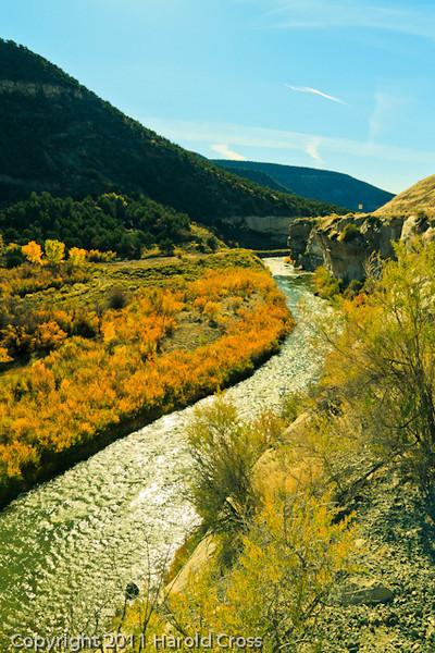 A landscape taken Oct. 23, 2011 near Palisade, CO.