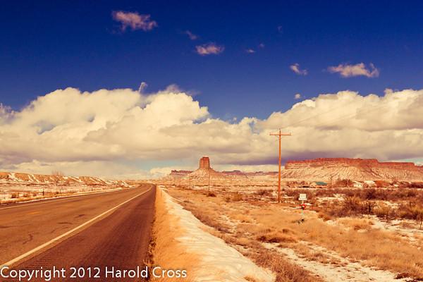 A landscape taken Mar. 2, 2012 near Cortez, CO.
