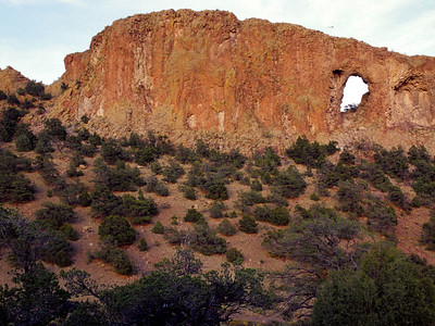 This arch is located in the mountains north of South Fork, Colorado.