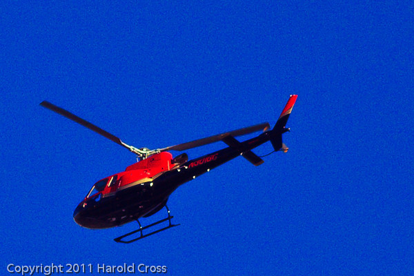 A helicopter taken Dec. 23, 2011 in Grand Junction, CO.