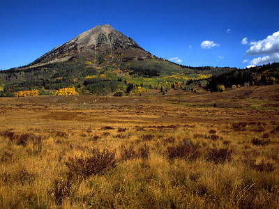 North of Crested Butte is one of the Fourteeners, Gothic Mountain.  Thanks to whoever corrected my error.