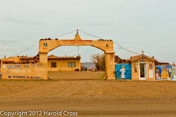 A landscape taken May 1, 2012 near Antonito, CO.
