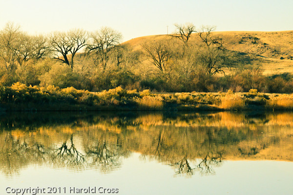 A landscape taken Nov. 29, 2011 near Fruita, CO.