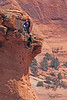 Rock Climbers taken Apr 10, 2010 at the Colorado National Monument.