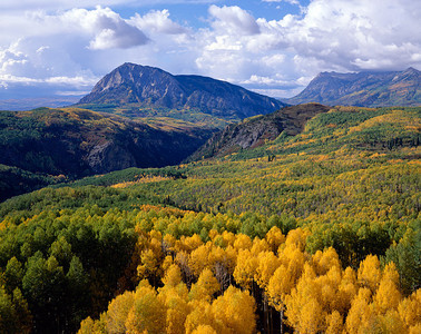 Mt. Marcellina in fall colors