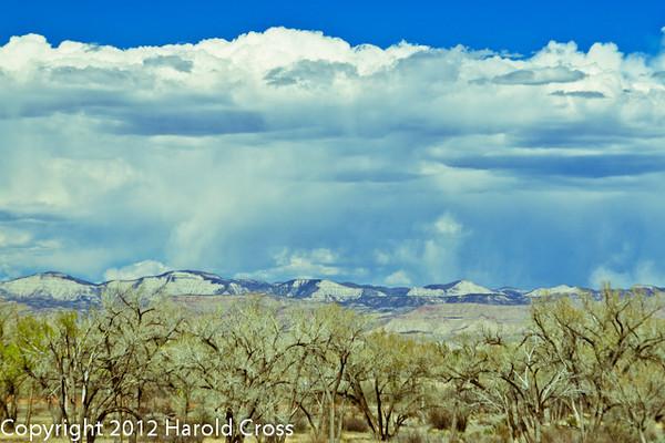 A landscape taken Apr. 23, 2012 near Fruita, CO.