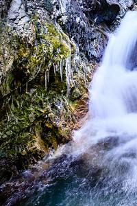 Zapata Falls Ice