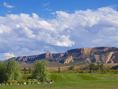 Colorado National Monument from Adobe Creek National Golf Course