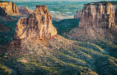 Early Morning Over Colorado National Monument