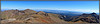 Panoramic view to the northeast from the summit of San Luis Peak; Colorado San Juan Range