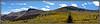 Fall foliage in the Cochetopa Creek valley just below San Luis Peak; Colorado San Juan Range