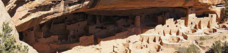 The great Cliff Palace, Mesa Verde National Park, Colorado.