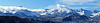 Mount Sneffels wreathed in morning clouds, Dallas Divide, Colorado San Juan Range.