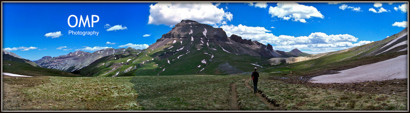 Uncompahgre Peak, west face, Colorado San Juan Mountains