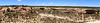 Panoramic view across Cliff Canyon, Mesa Verde National Park, Colorado