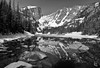 Dream Lake (1)-B&W