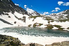 Upper Mohawk Lake, at 12,100 ft. in the Pacific Peak Basin southwest of Breckenridge; Colorado Tenmile Range