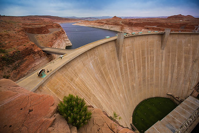 Glen Canyon Dam and Lake Powell (Page, Arizona)