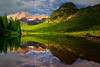 Colorado, Aspen, Maroon Lake,  Reflection