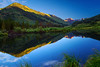 Colorado, Crested Butte, Slate River, Sunrise, Reflection