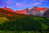 Colorado, Ridgway, Dallas Divide, Sunrise