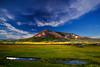 Colorado, Crested Butte, Sunset