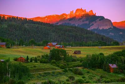 Colorado, Gunison, Ohio Creek, Sunrise