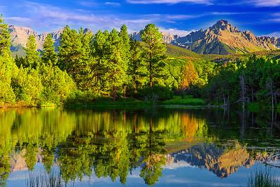 Colorado, Ridgway, Dallas Creek Road, Mount Sneffels