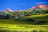 Colorado, Crested Butte, Washington Gulch Roadside
