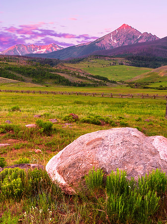 Colorado, Silverthorne, Gore, Range, Green Mountain, Sunrise