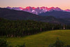 Colorado, Ridgway, Last Dallas Road, Mount Sneffels