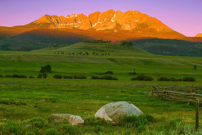 Colorado, Silverthorne, Gore, Range, Blue River, Green Mountain Reservoir, Sunrise