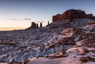 Monument Valley - Pinnacles