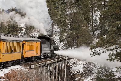 Durango Silverton Narrow Gauge Rail Road